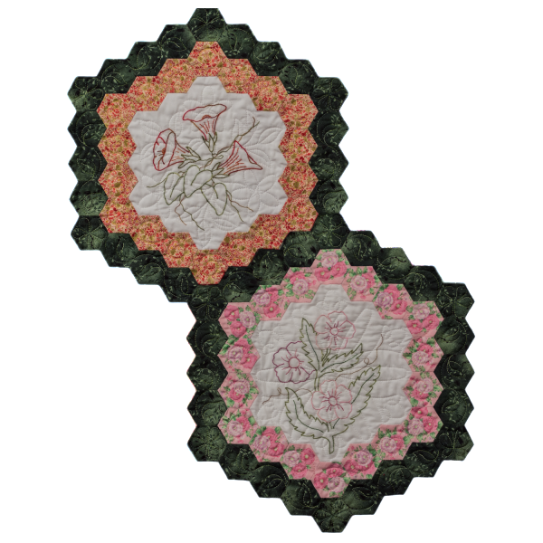 Quilt Block Set - Flowers in my Garden