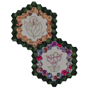 Quilt Block Set - Flowers in my Garden